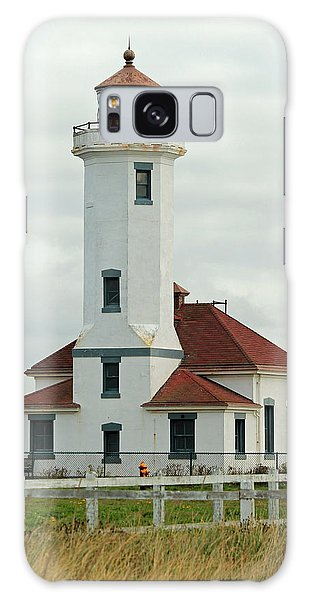 Point Wilson Lighthouse Galaxy Case by E Faithe Lester