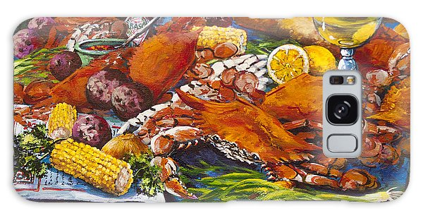 Pontchartrain Crabs Galaxy Case by Dianne Parks