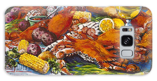 Pontchartrain Crabs Galaxy Case