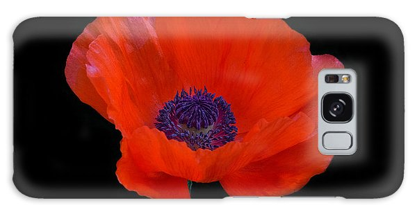 Poppy  Galaxy Case
