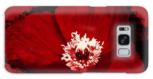 Poppy Galaxy Case by Tiffany Erdman