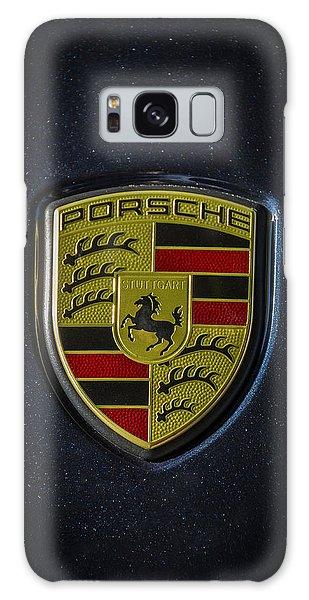 Porsche Logo Galaxy Case