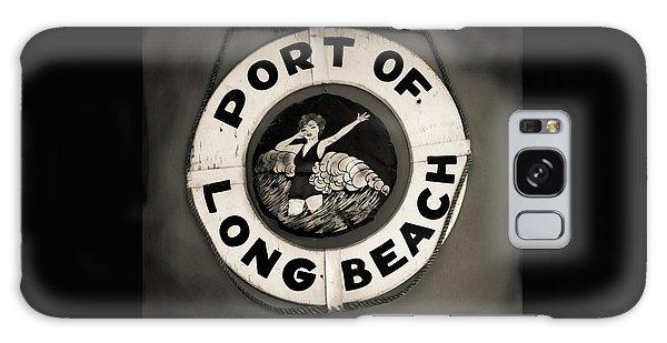 Port Of Long Beach Life Saver Vin By Denise Dube Galaxy Case
