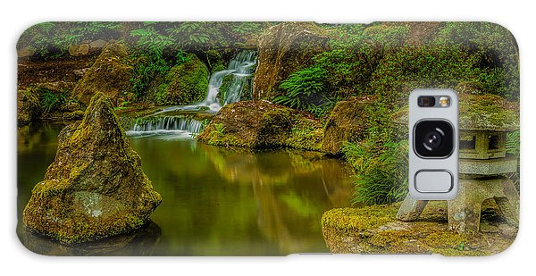 Portland Japanese Gardens Galaxy Case by Jacqui Boonstra