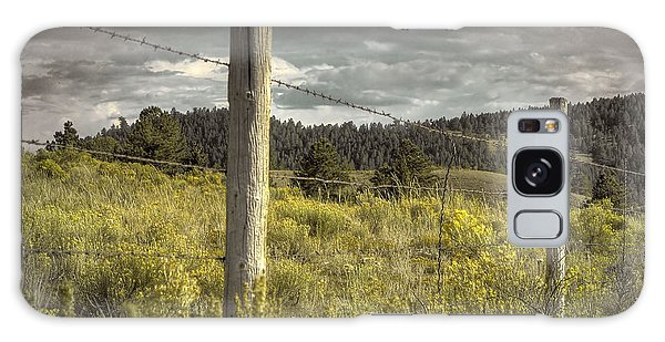 Prairie Fence Galaxy Case