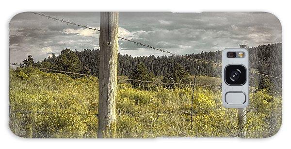 Prairie Fence Galaxy Case