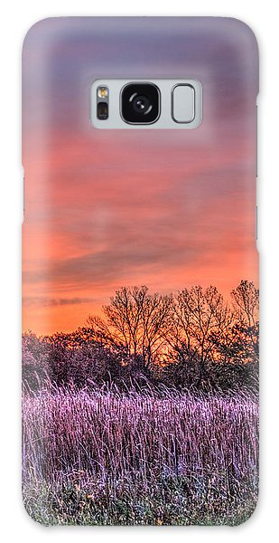 Illinois Prairie Moments Before Sunrise Galaxy Case