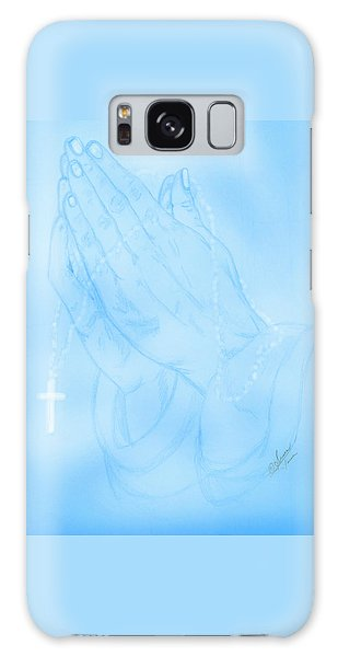 Praying Hands  Galaxy Case