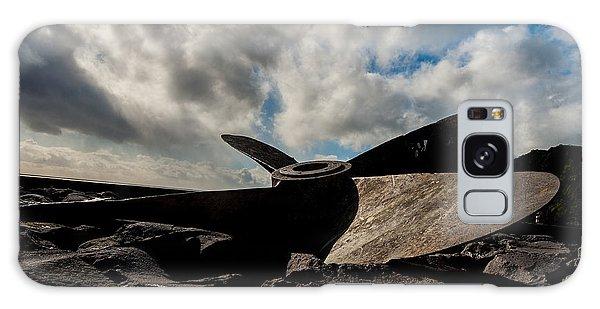 Propeller On The Beach Galaxy Case