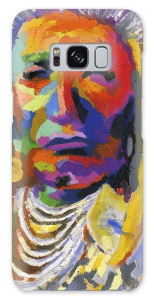 Proud Native American II Galaxy Case by Stephen Anderson