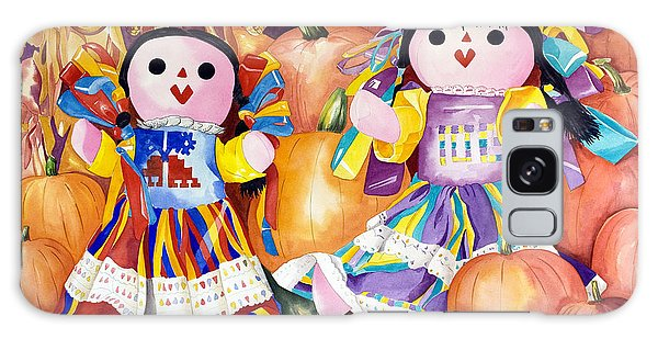Pumpkin Patch Party Galaxy Case