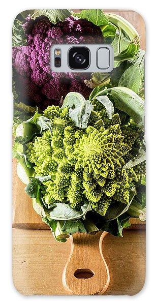 Purple And Romanesque Cauliflowers Galaxy Case