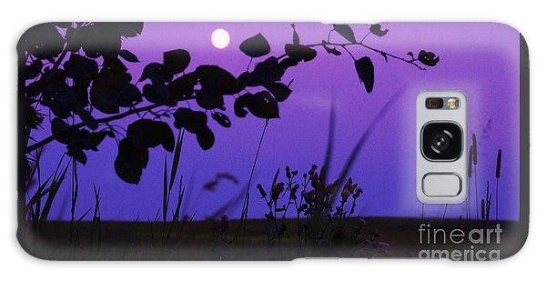 Purple Moon Galaxy Case