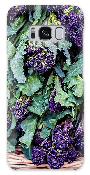 Purple Sprouting Broccoli Galaxy Case