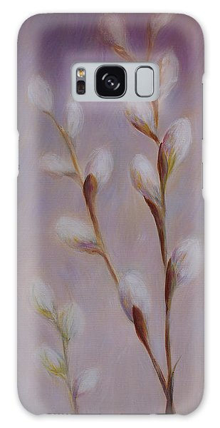 Pussy Willows Galaxy Case