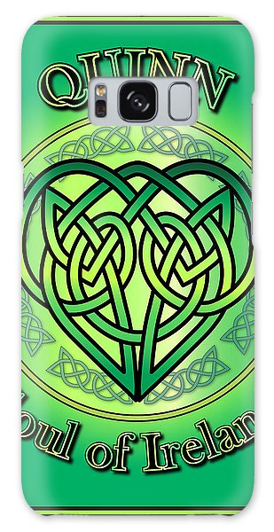 Quinn Soul Of Ireland Galaxy Case