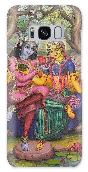 Radha And Krishna Galaxy Case
