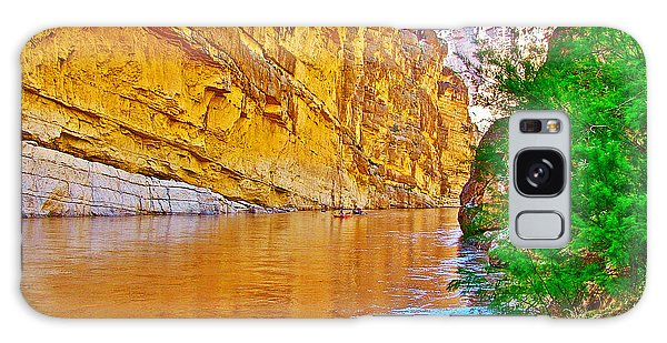 Rafting In Santa Elena Canyon In Big Bend National Park-texas Galaxy Case