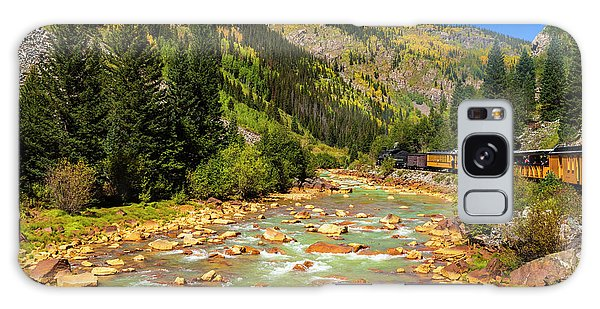 Chasm Galaxy Case - Railroad On The Animas River, San Juan by Russ Bishop