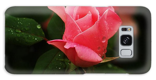 Raindrops On Roses Galaxy Case