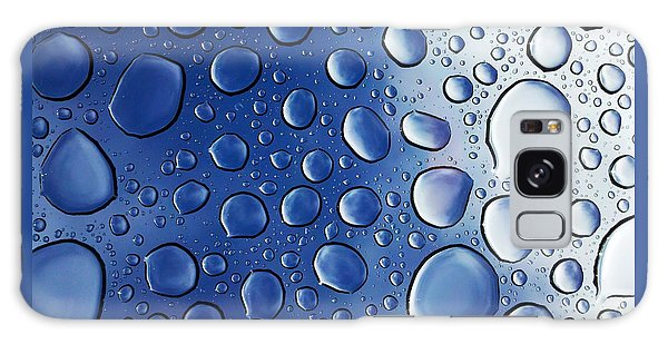 Raindrops Galaxy Case by Richard Stephen