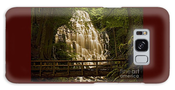 Ramona Falls Galaxy Case by Nick  Boren