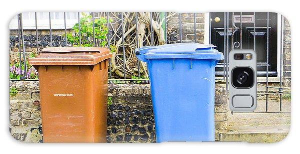 Rubbish Bin Galaxy Case - Recycling Bins by Tom Gowanlock