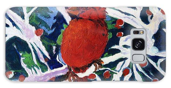 Red Bird Galaxy Case