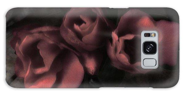 Red Bloom Galaxy Case