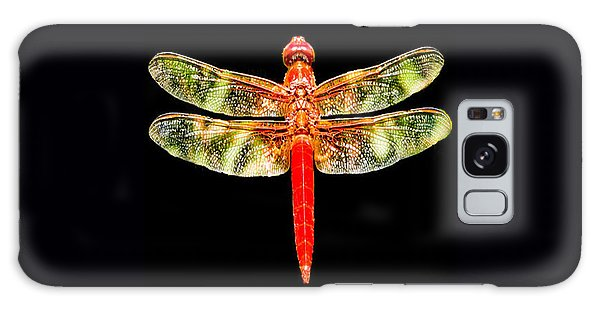 Red Dragonfly Small Galaxy Case