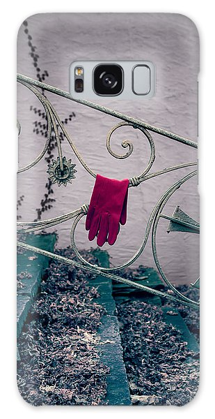 Banister Galaxy Case - Red Glove by Joana Kruse