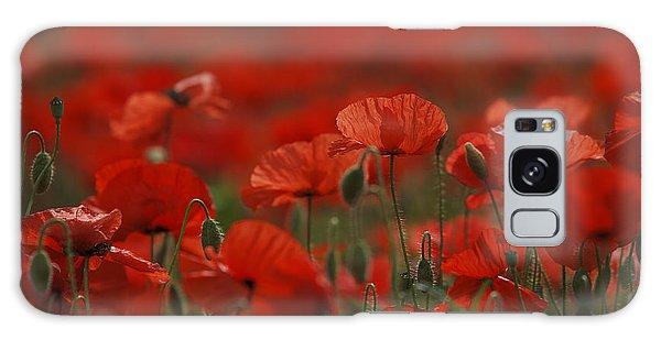 Summertime Galaxy Case - Red by Nailia Schwarz