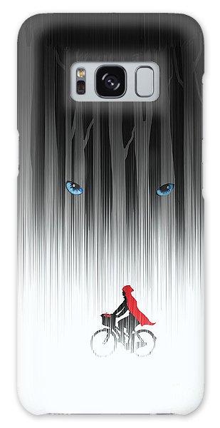 Fairy Galaxy Case - Red Riding Hood by Sassan Filsoof