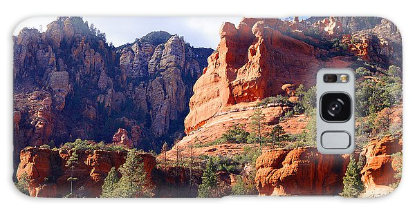 Red Rock Country Landscapes Galaxy Case