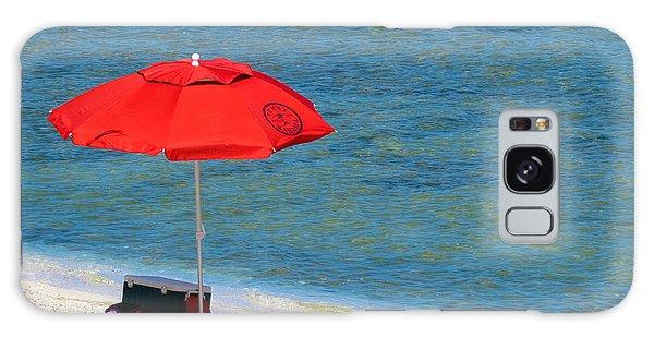 Red Umbrella Galaxy Case