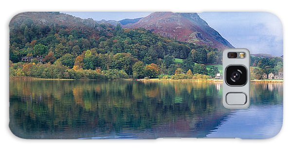 Grasmere Galaxy Case - Reflection Of Hills In A Lake by Panoramic Images