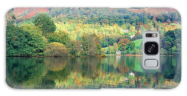 Grasmere Galaxy Case - Reflection Of Trees In A Lake by Panoramic Images