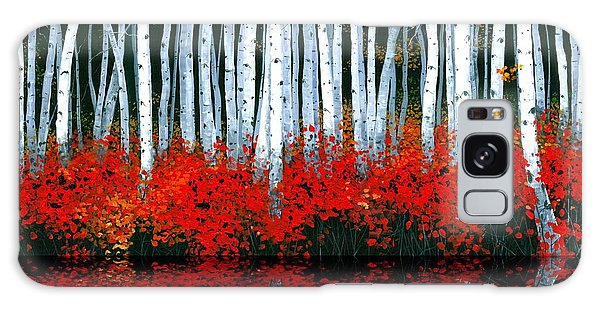Reflections - Sold Galaxy Case by Michael Swanson