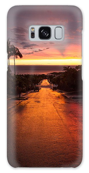 Sunset After Rain Galaxy Case