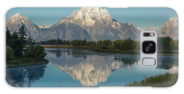 Reflections Of Mount Moran Galaxy Case