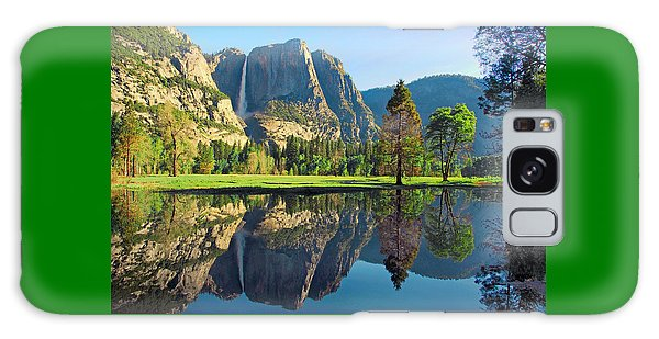 Reflections Of Yosemite Falls Galaxy Case