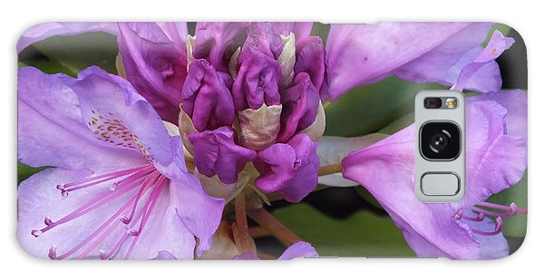 Galaxy Case featuring the photograph Rhododendron by Gene Cyr