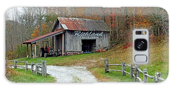 Richland Creek Farm Barn Galaxy Case