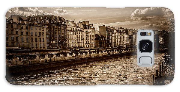 River Seine Paris Galaxy Case