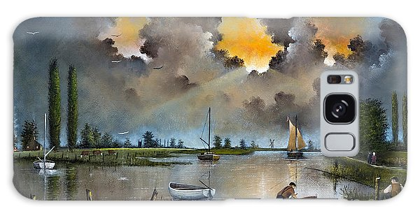 River Yare On The Broads Galaxy Case