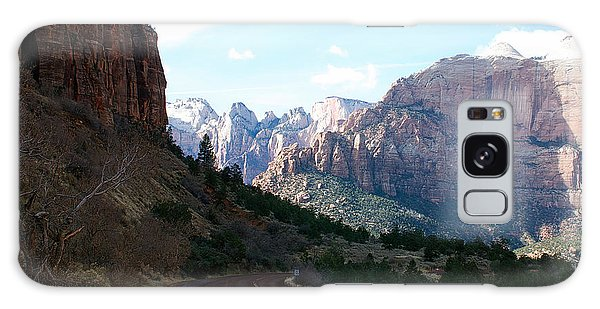 Road Through Zion National Park Galaxy Case