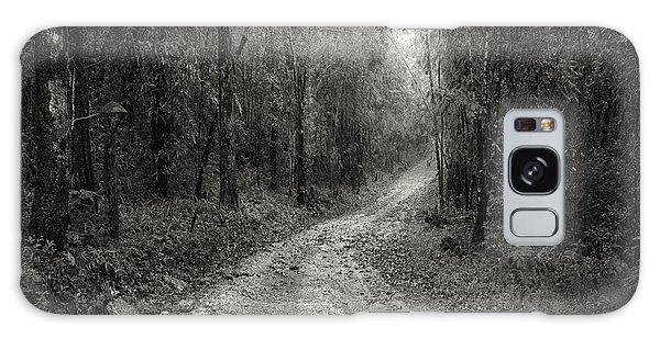 Peaceful Galaxy Case - Road Way In Deep Forest by Setsiri Silapasuwanchai