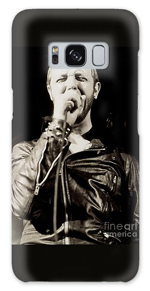 Rob Halford Of Judas Priest At The Warfield Theater During British Steel Tour - Unreleased  Galaxy Case