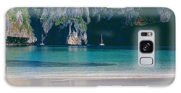 Phi Phi Island Galaxy Case - Rock Formations In The Sea, Phi Phi by Panoramic Images