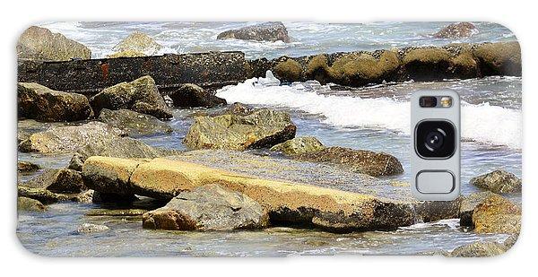 Rocky Beach Galaxy Case